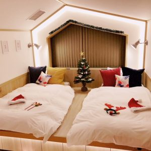 【期間限定】カフェテル女子会♪おこもりクリスマスルーム。*:゜☆